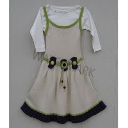 "Girl Dress ""3 Moños\"""
