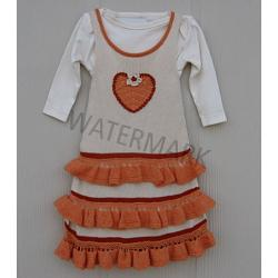 "Girl Dress ""Corazón I\"""