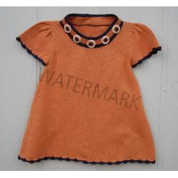 "Girl Dress ""Mandarina\"""