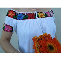 "Mexican Blouse ""Tulipanes\"""