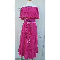 "Two Piece Mexican Outfit ""Campesina G\"""