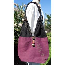 Thai Shoulder Bag Purple